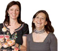 Pamela Timms and Laura Roodenburg, Upar Wali Chai. Both are passionate about baking and the high-teas they'd do had elaborate menus.