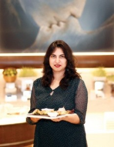 Anoothi Vishal, The food journalist is a hobby cook of Kayastha cuisine, which despite its wide variety, is not available in any restaurant in the country. Photo: Ravi Choudhary