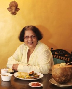 Pia Promina, Other than hosting elaborate Bengali Mahabhoj for perfect strangers at her Mumbai home, Promina also runs the swish Food Boutique, a bakery that specialises in cookies and tea cakes. Photo: Manoj Patil