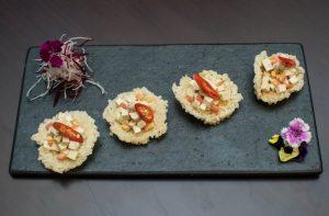 Chicken Rice Crackers (Khao Tang Gai Yang